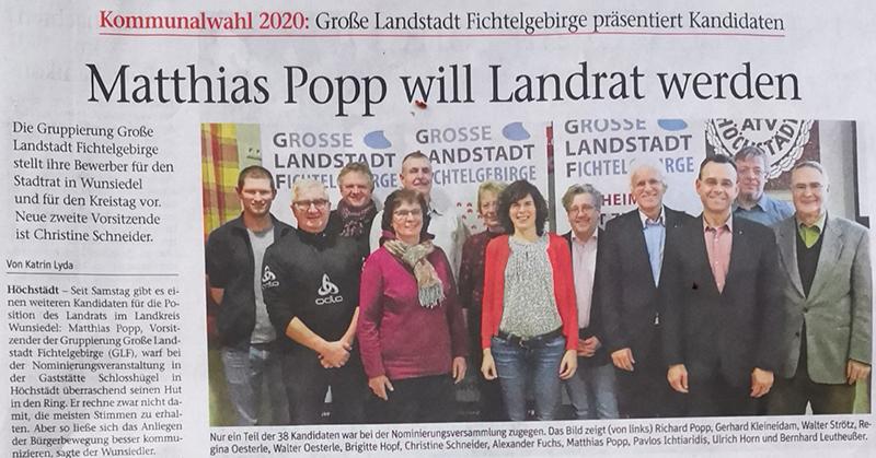 Matthias Popp will Landrat werden